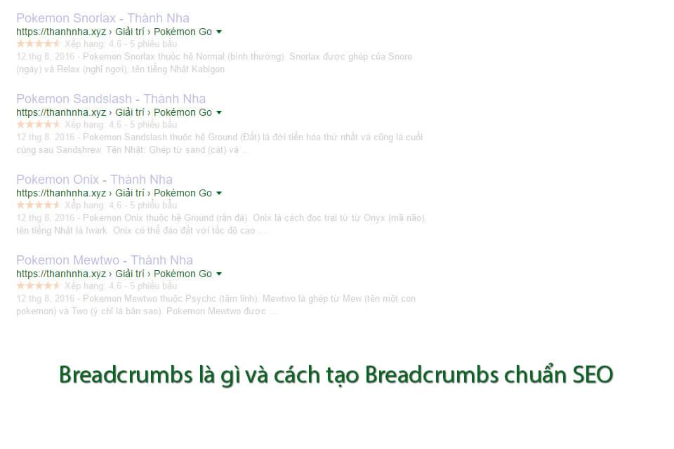 Breadcrumbs là gì và cách tạo Breadcrumbs chuẩn SEO