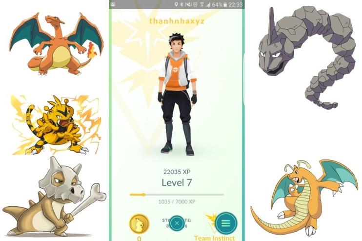 Bảng xếp hạng các Pokémon theo chỉ số CP