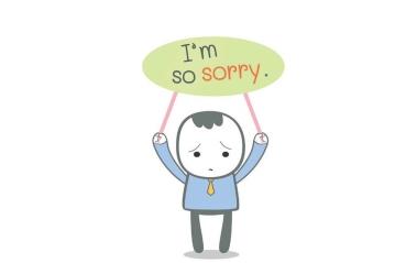 Những cách nói xin lỗi trong tiếng Anh nên biết
