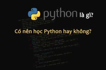 Python là gì? Có nên học ngôn ngữ Python hay không?